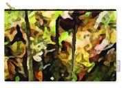 Pitcher Plant Abstraction Carry-all Pouch
