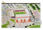 Pittodrie Stadia Art Carry-all Pouch