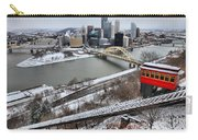Pittsburgh Duquesne Incline Winter Carry-all Pouch
