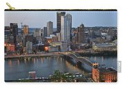 Pittsburgh Before Sunset Carry-all Pouch