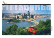 Pittsburgh Digital Painting Carry-all Pouch