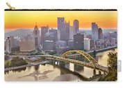 Pittsburgh Incline Sunrise Panorama Carry-all Pouch