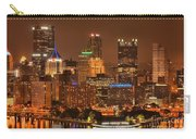 Pittsburgh Lights Under Cloudy Skies Carry-all Pouch