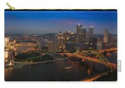 Pittsburgh Pa Carry-all Pouch by Steve Gadomski