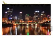 Pittsburgh Panorama Carry-all Pouch by Frozen in Time Fine Art Photography