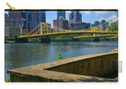 Pittsburgh Pennsylvania Skyline And Bridges As Seen From The North Shore Carry-all Pouch