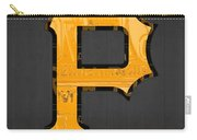 Pittsburgh Pirates Baseball Vintage Logo License Plate Art Carry-all Pouch