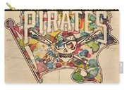 Pittsburgh Pirates Poster Art Carry-all Pouch