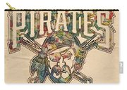 Pittsburgh Pirates Poster Vintage Carry-all Pouch