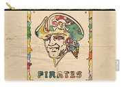 Pittsburgh Pirates Vintage Art Carry-all Pouch