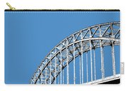 Pittsburgh Skyline 16th St. Bridge - Slate Carry-all Pouch