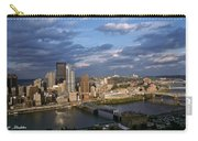 Pittsburgh Skyline At Dusk Carry-all Pouch