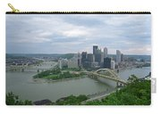 Pittsburgh - View Of The Three Rivers Carry-all Pouch