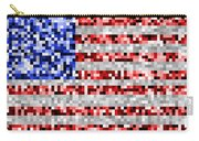 Pixel Flag Carry-all Pouch