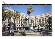 Placa Reial In Barcelona Carry-all Pouch