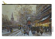 Place De La Republique Paris Carry-all Pouch by Eugene Galien-Laloue