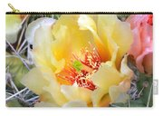 Plains Prickly Pear Flower Carry-all Pouch