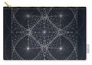 Plancks Blackhole Carry-all Pouch by Jason Padgett