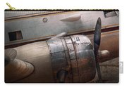 Plane - A Little Rough Around The Edges Carry-all Pouch by Mike Savad