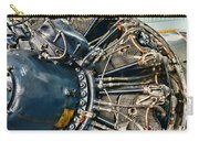 Plane Engine Close Up Carry-all Pouch