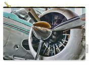 Plane First Class Carry-all Pouch by Paul Ward