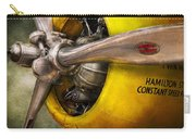 Plane - Pilot - Prop - Twin Wasp Carry-all Pouch by Mike Savad