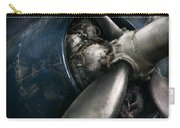 Plane - Pilot - Prop - You Are Clear To Go Carry-all Pouch by Mike Savad