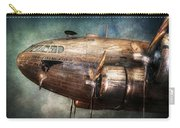 Plane - Pilot - The Flying Cloud  Carry-all Pouch by Mike Savad