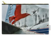 Plane Tail Wing Eastern Air Lines Carry-all Pouch