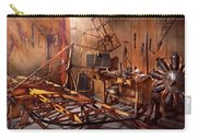 Plane - The Dawn Of Aviation Carry-all Pouch by Mike Savad