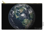 Planet Earth 90 Million Years Ago Carry-all Pouch by Walter Myers