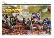 Planetary Invasion Carry-all Pouch by Pete Tapang