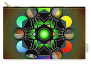 Planetary Metatron Zodiac Carry-all Pouch