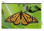 Plant Milkweed And Save The Monarch Butterfly Carry-all Pouch