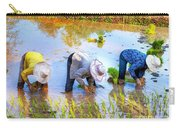 Planting Rice Carry-all Pouch