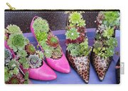Plants In Pumps Carry-all Pouch