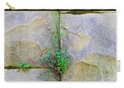 Plants In The Brick Wall Carry-all Pouch