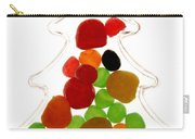 Plastic Christmas Tree Containing Sweet Carry-all Pouch