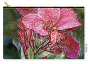 Plastic Wrapped Pink Flower By Diana Sainz Carry-all Pouch