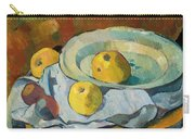 Plate Of Apples Carry-all Pouch by Paul Serusier
