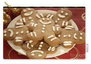Plateful Of Gingerbread Cookies Carry-all Pouch by Juli Scalzi