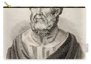 Plato From Crabbes Historical Dictionary Carry-all Pouch