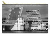 Platt Street Bridge Opening Carry-all Pouch by David Lee Thompson