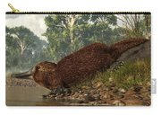 Platypus On The Shore Carry-all Pouch