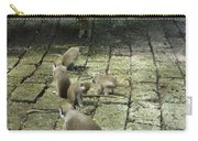 Green Monkey Play Time Carry-all Pouch