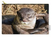 Play Time For Otters Carry-all Pouch
