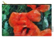 Playful Poppies 5 Carry-all Pouch