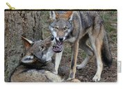 Playful Wolves Carry-all Pouch