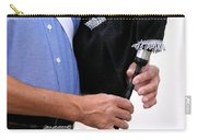 Playing Bagpipe Carry-all Pouch