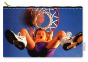 Playing Basketball Carry-all Pouch